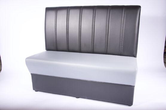 Madrid Soffa ljusgrå konstläder 160cm modul